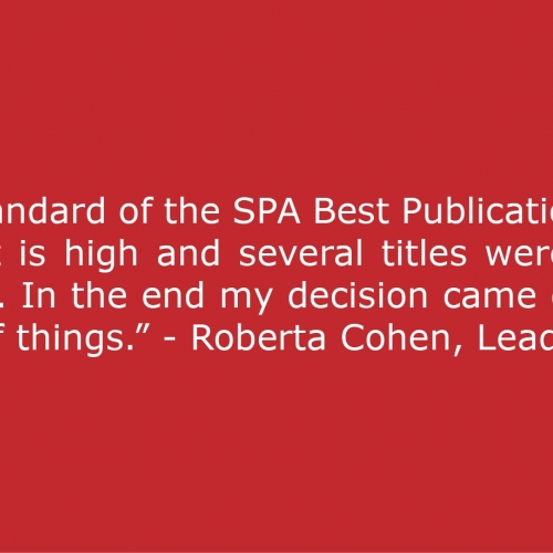 SPA Best Publication 2016
